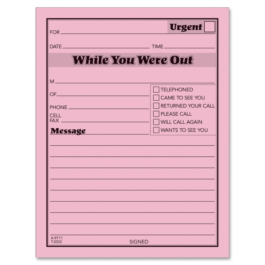 This is a graphic of Free Printable Phone Message Template throughout phone conversation note